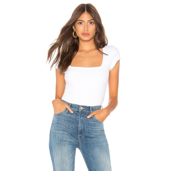 a0bdfb761 Free People Tops - FREE PEOPLE SQUARE EYES BODYSUIT ❤️IN STORES❤️